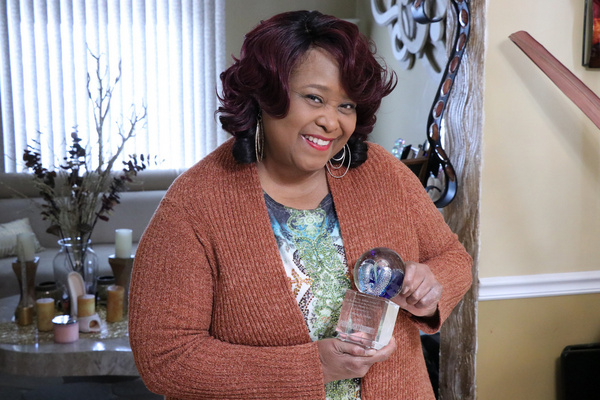 Felicia P. Fields with the Guy Adkins Award for Excellence in the Advancement of Musi Photo