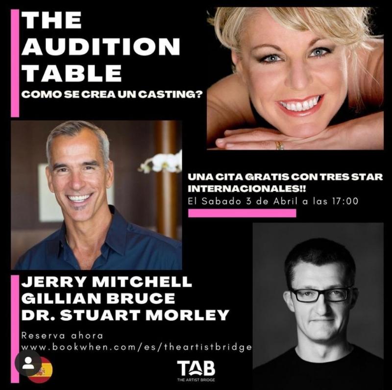 The Artist Bridge presenta la masterclass THE AUDITION TABLE