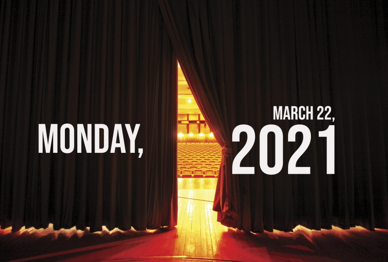 Virtual Theatre Today: Monday, March 22- with Marisha Wallace, Jenna Russell, and More!