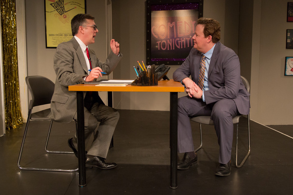 Tony Braithwaite and Joe Mallon  Photo