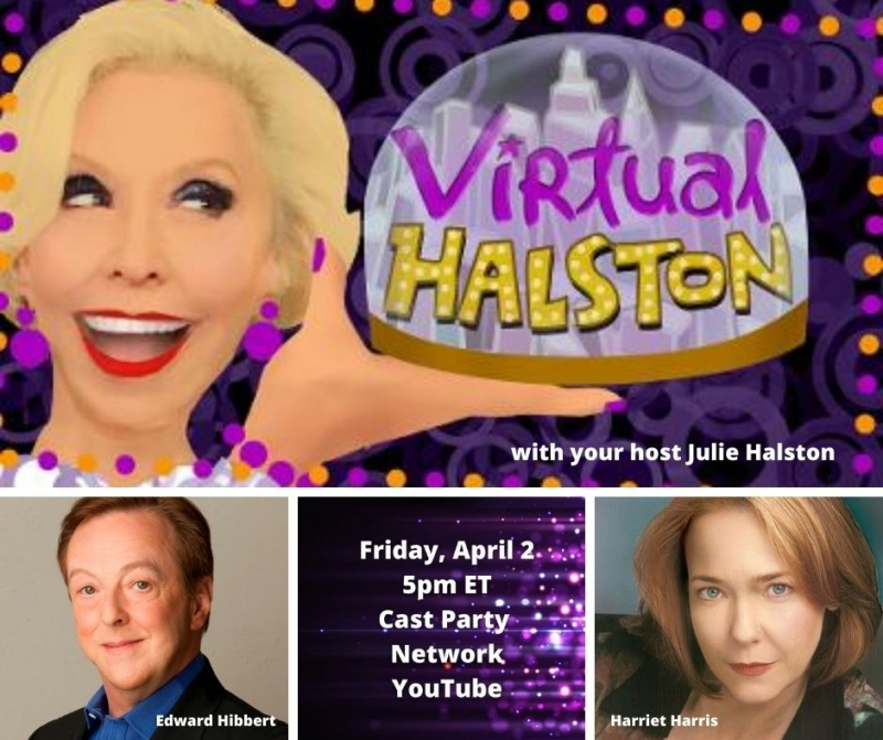 BWW Previews: Comedy Times Three When Harris and Hibbert Join Halston, Virtually, on April 2nd