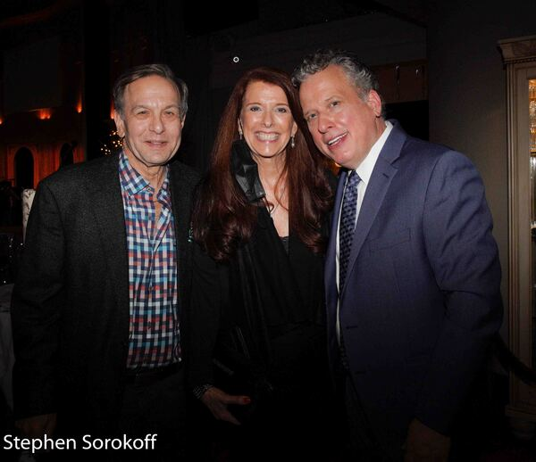Jeff Leibowitz, Leslie Laredo, Billy Stritch Photo