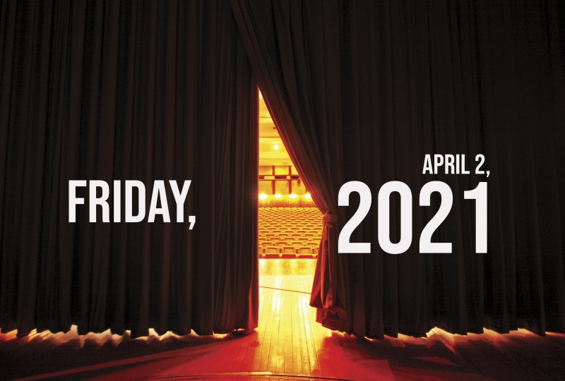 Virtual Theatre Today: Friday, April 2- with Lauren Patten, Derrick Baskin, and More!