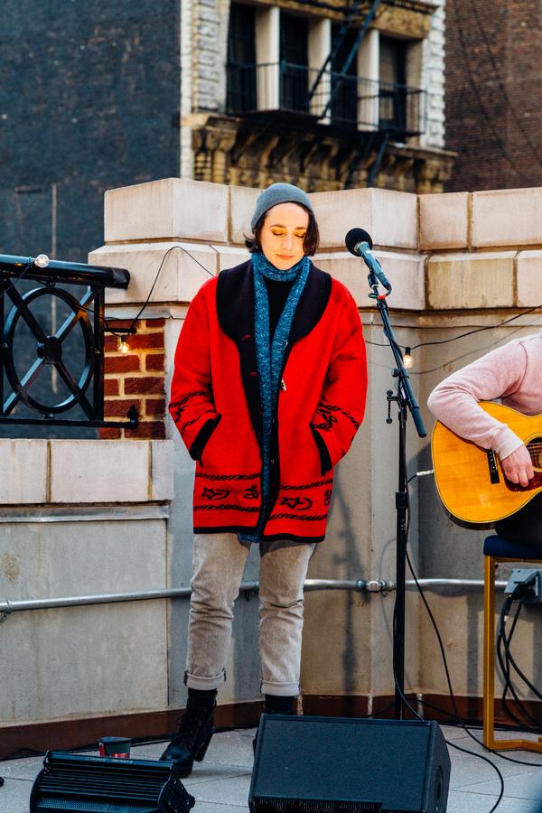 Photos: Lauren Patten and Derek Klena Sing from The Rooftops with TodayTix