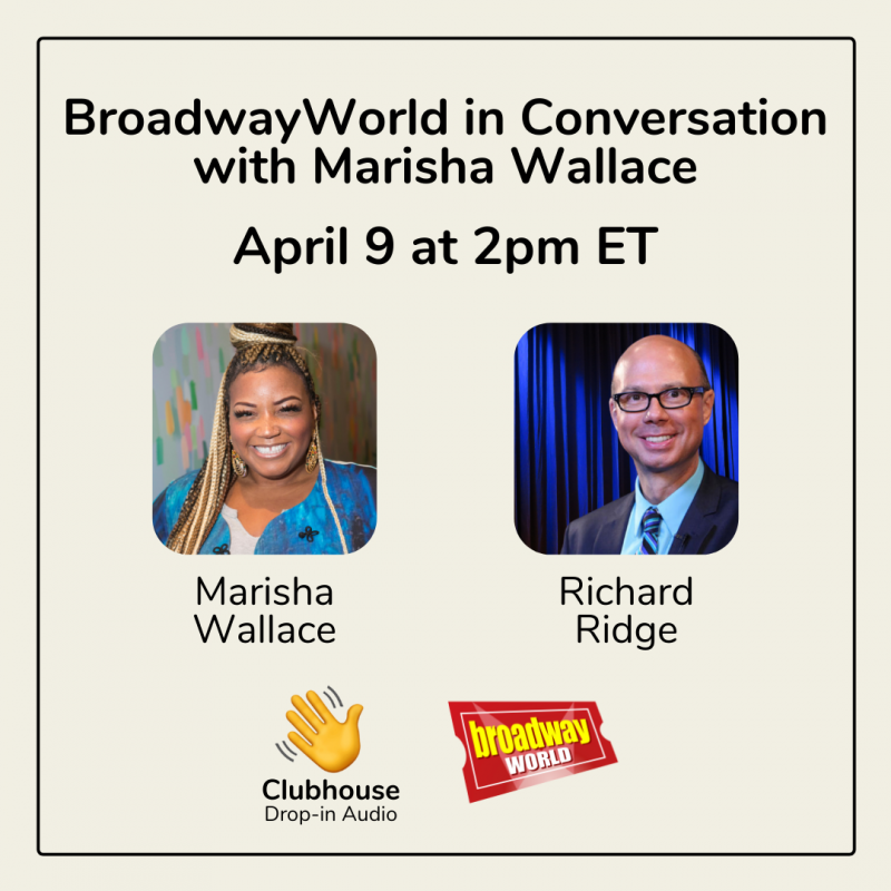 LISTEN: Richard Ridge Will Chat with Marisha Wallace on Clubhouse- Live at 2pm!