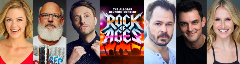 Kate Rockwell, Mitchell Jarvis, Wesley Taylor & More Join ROCK OF AGES: All-Star Reunion Concert
