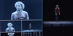 BWW Review: THE CATASTROPHIST at City Theatre Blurs Genres and Experiments with Perception Photo