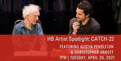 HB Studio Hosts CATCH 22 Event with Actors Christopher Abbott and Austin Pendleton Photo