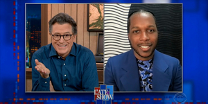 Leslie Odom Jr. Talks Sam Cooke on THE LATE SHOW Video