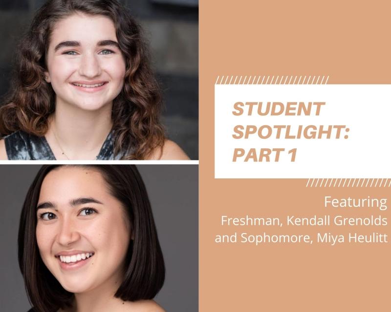 Student Blog: Student Spotlight: Underclassmen Edition