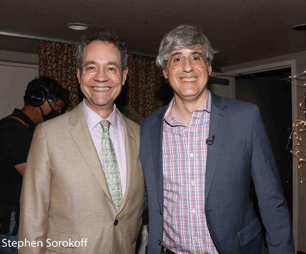 Mark Sendroff & Mo Rocca Photo