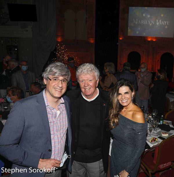 Mo Rocca, Dick Robinson, Angela Manfredi Photo