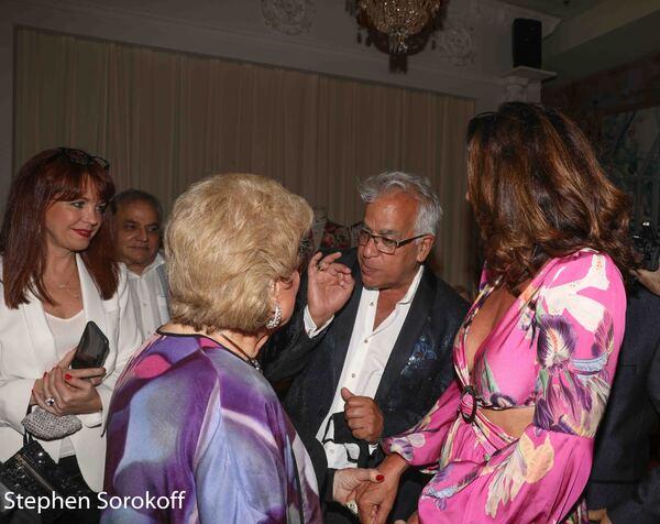 Deborah Lynn, Marilyn Maye, Richard Jay-Alexander, Luann de Lesseps Photo