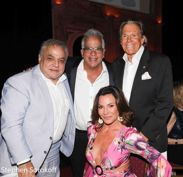 Lee Brian Schrager,Richard Jay-Alexander, Bill Boggs, Countess Luann de Lesseps Photo