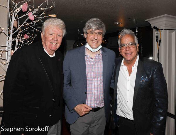 Dick Robinson, Mo Rocca, Richard Jay-Alexander Photo
