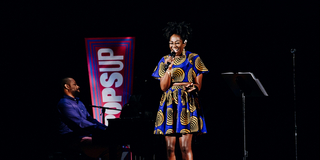 VIDEO: Amber Iman Performs at the Broadway Theatre For NY PopsUp Photo