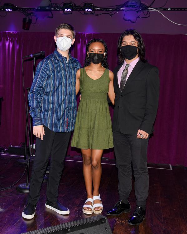 Joshua Turchin, Tyrah Skye Odomos, and Bonale Fambrini Photo