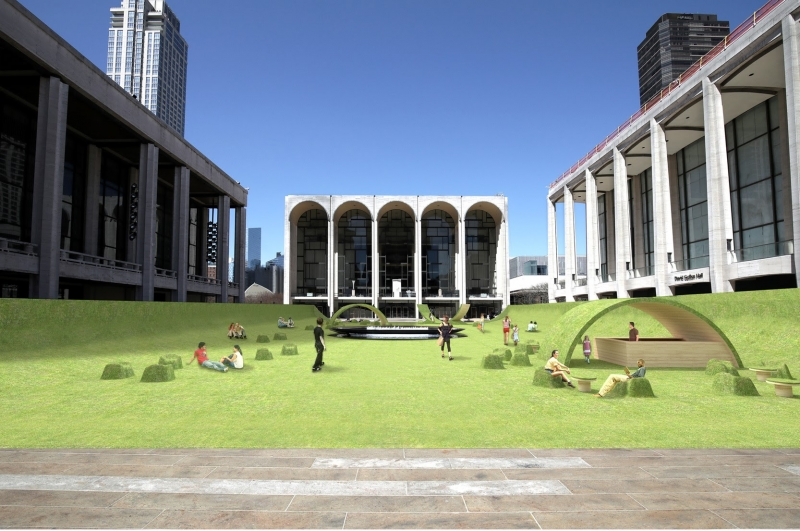 Lincoln Center Will Transform Josie Robertson Plaza Into Green Space