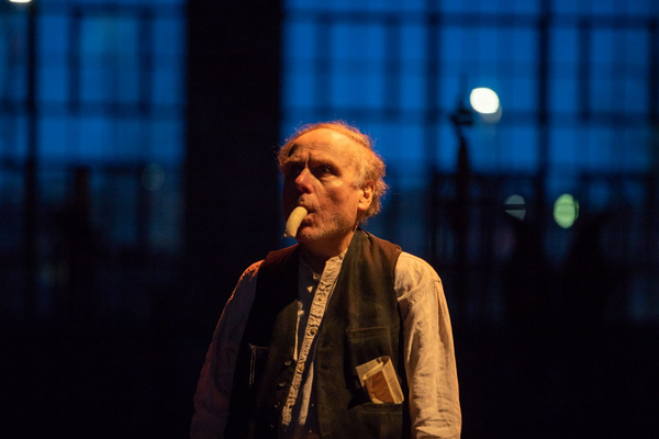 Photos: First Look At KRAPP'S LAST TAPE From The Wilbury Group