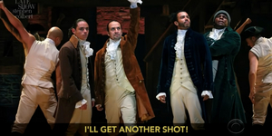 THE LATE SHOW Spoofs HAMILTON With 'My Shot' Vaccine Parody Video