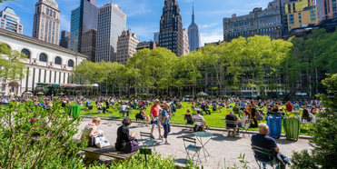 Bryant Park Will Host 25 'Picnic Performances' This Summer from Carnegie Hall, Joe's Pub a Photo