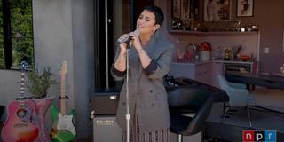 VIDEO: Demi Lovato Debuts Tiny Desk Concert Photo