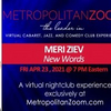 Meri Ziev Brings NEW WORDS Show to MetropolitanZoom April 23rd Photo