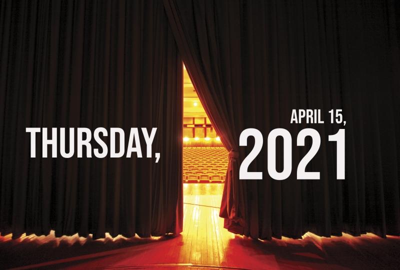Virtual Theatre Today: Thursday, April 15- with Stephanie J. Block, Sebastian Arcelus, Derek Klena, and More!