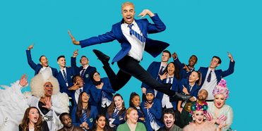 Bianca del Rio Joins the Cast of EVERYBODY'S TALKING ABOUT JAMIE on The Broadway Cast Reun Photo