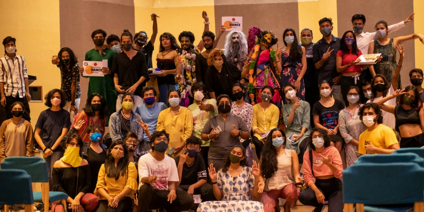 Photo Flash: Hyderabad Dance Festival Ends With A Rainbow Inclusion Photo