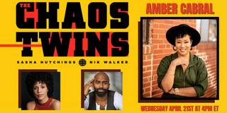 VIDEO: Amber Cabral Joins THE CHAOS TWINS - Wednesday at 4pm! Video