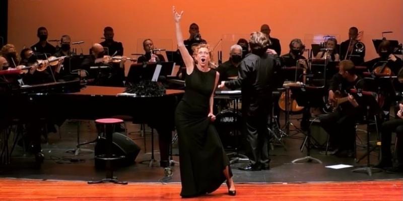 Photos: UNA NIT DE MUSICAL con Àngels Gonyalons y la OSIB en Menorca