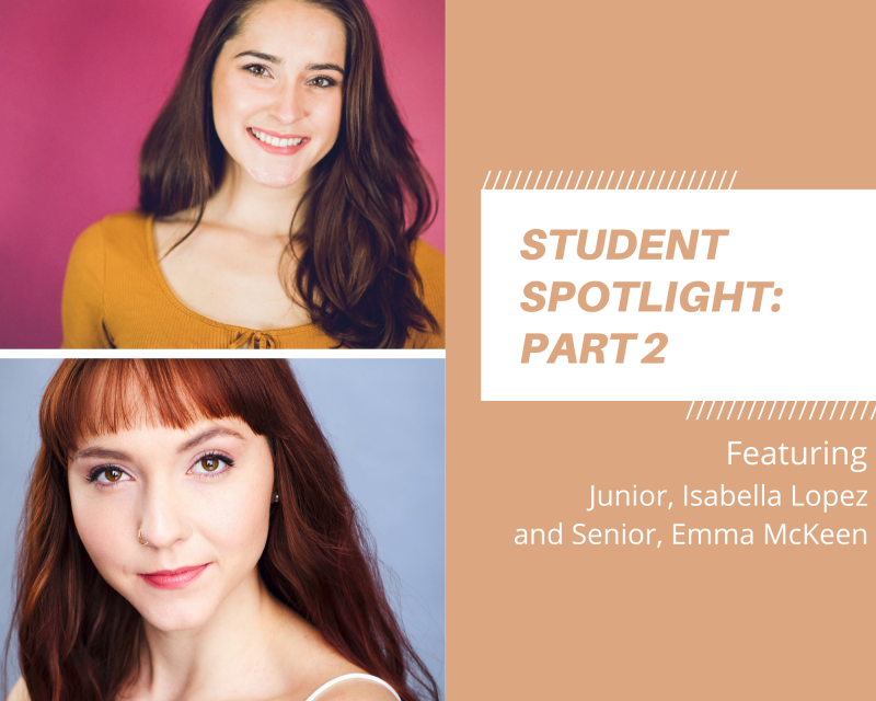 Student Blog: Student Spotlight: Upperclassmen Edition