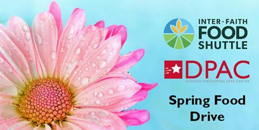 DPAC Announces Date For Spring Virtual Food Drive Photo