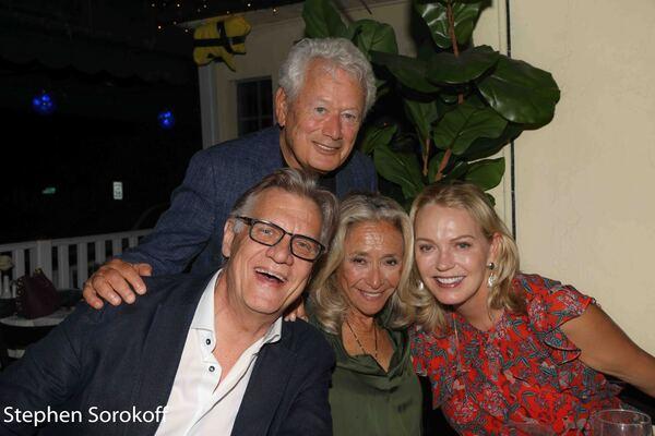 Helmut Koller, Stephen Sorokoff, Eda Sorokoff, Kim Charlton Photo