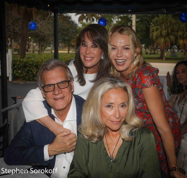 Helmut Koller, Catherine Adler, Kim Charlton, Eda Sorokoff Photo