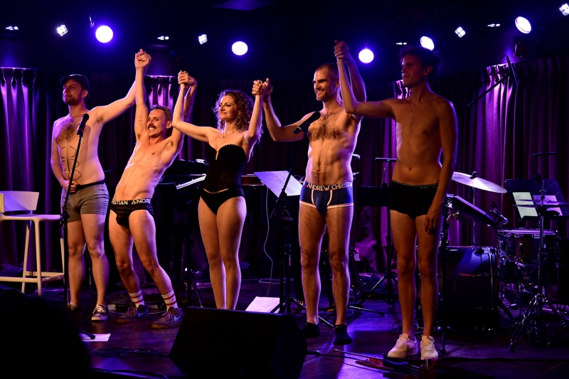 EXCLUSIVE Photos from Michael Kushner:  The Return of THE SKIVVIES (Including Their Next Show Dates)!