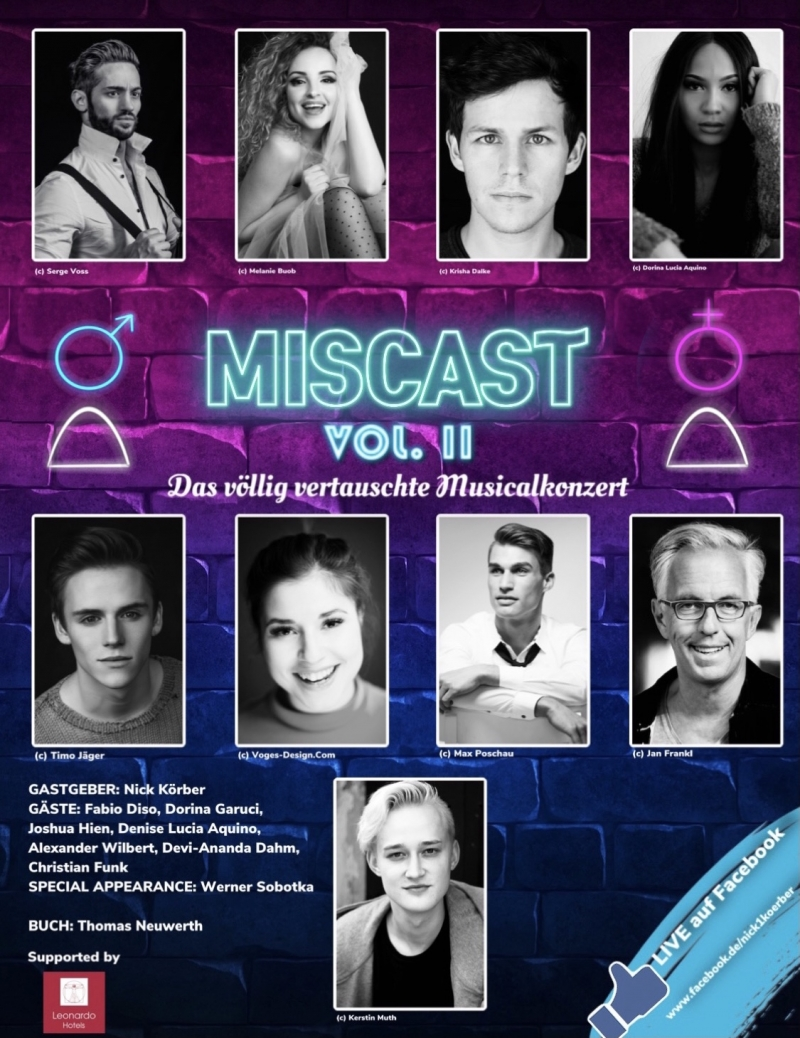 BWW Previews: MISCAST VOL.2 at Facebook Live