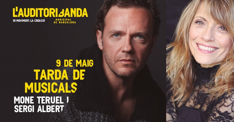 Sergi Albert y Mone Teruel se unen en una TARDA DE MUSICALS con la Banda Municipal de Barcelona