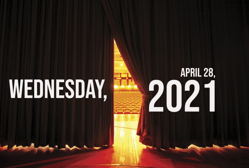 Virtual Theatre Today: Wednesday, April 28- with Marilyn Maye, George C. Wolfe, and More!