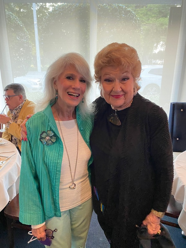 Jamie deRoy & Marilyn Maye Photo