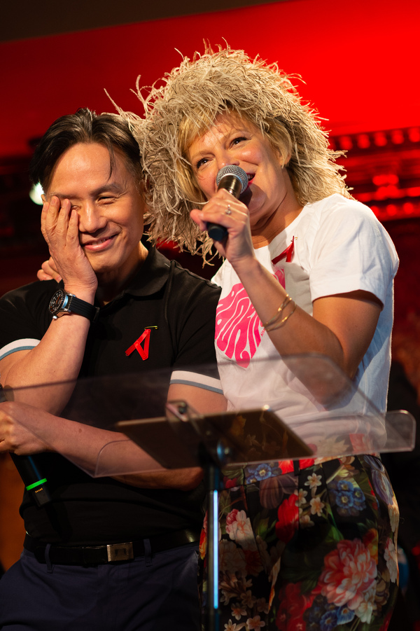 BD Wong, Martha Plimpton Photo