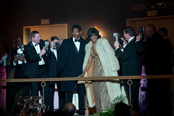 Marlon Wayans stars as Ted White and Jennifer Hudson as Aretha Franklin Photo