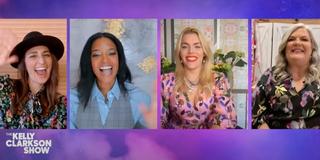 VIDEO: Kelly Clarkson & The GIRLS5EVA Cast Gush Over Their Favorite Girl Groups Photo