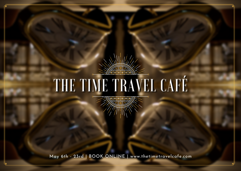 Review: THE TIME TRAVEL CAFE at Anywhere Festival