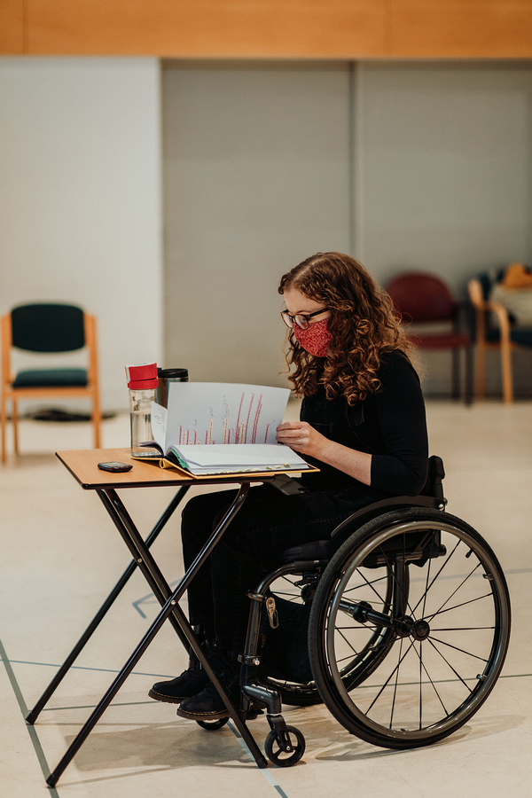 Photos: Inside Rehearsal For REASONS YOU SHOULD(N'T) LOVE ME at the Kiln Theatre