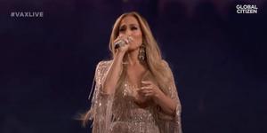 VIDEO: Jennifer Lopez Performs 'Sweet Caroline' as Part of Global Citizen's VAX LIVE Concert