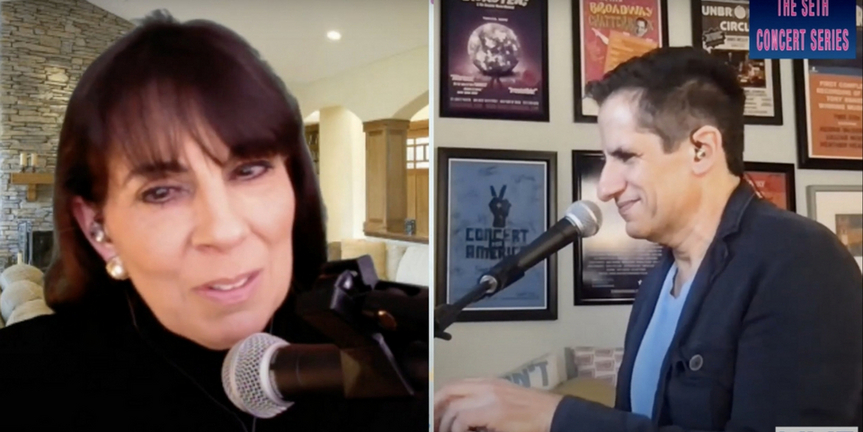 Exclusive: Christine Pedi Performs a LES MISERABLES Medley With Seth Rudetsky; Concert Re- Photo