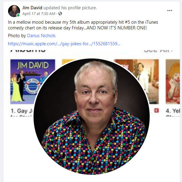 BWW Interview: Jim David of GAY JOKES FOR STRAIGHT CRUISERS