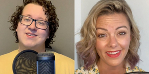 Kate Rockwell and Next on Stage Finalist Steven Klenk Sing 'Rewrite the Stars' Video